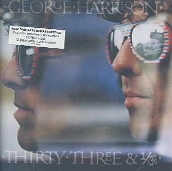 THIRTY THREE & 1/3 BY HARRISON,GEORGE (CD)